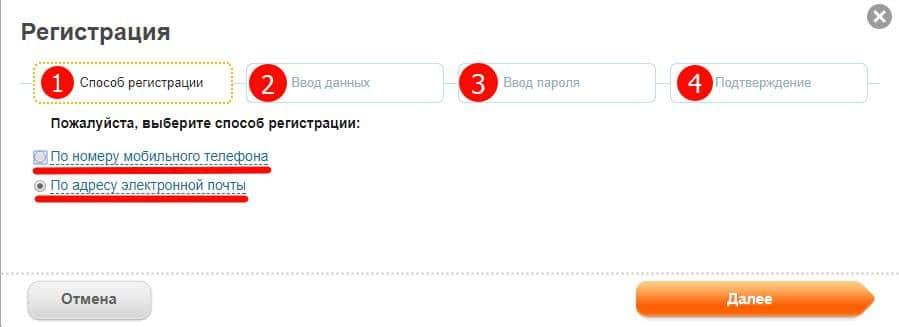 4 шага для регистрации в личном кабинете Мосэнергосбыта по номеру телефона и адресу электронной почты