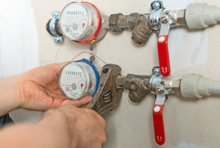 Замена счетчика водоснабжения