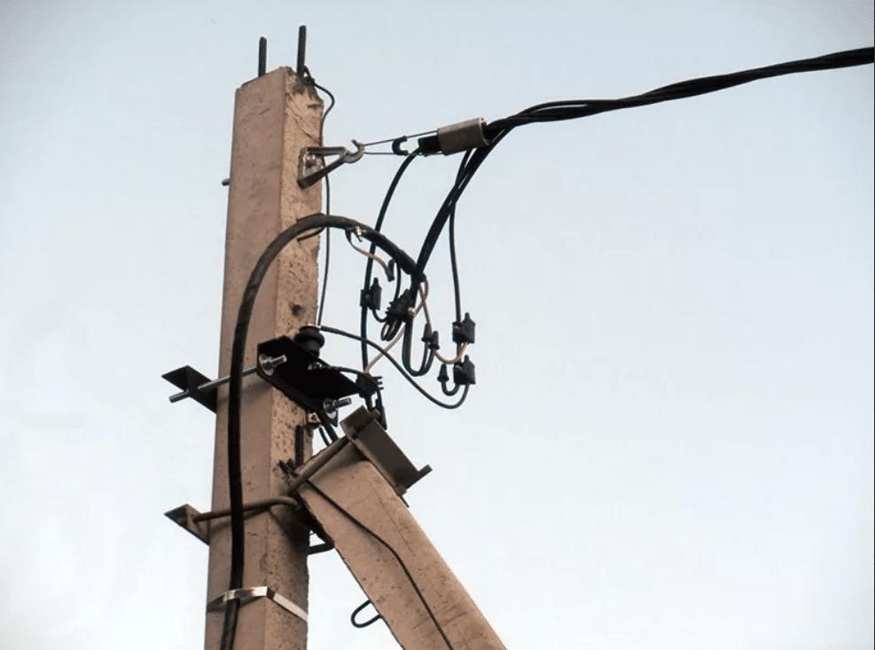 Подключение электроэнергии по воздуху