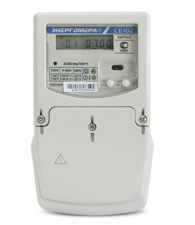Энергомер СЕ-102 для сохранения информации