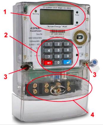 Пульт для управления электросчетчика