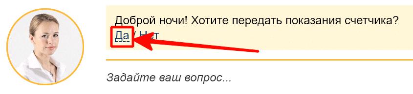 Автоматический чат на официальном сайте