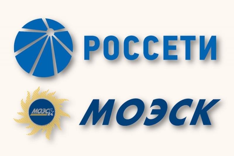 Логотипы Россет и МОЭСК